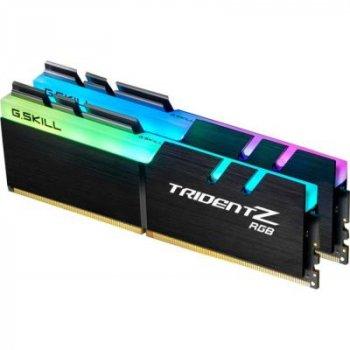 Модуль пам'яті для комп'ютера DDR4 64GB (2x32GB) 3600 MHz Trident Z RGB G. Skill (F4-3600C18D-64GTZR)