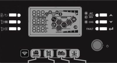 Інвертор AXIOMA Energy Гібридний 7200Вт 48В ISMPPT BFP 7200 (ISMPPTBFP7200)