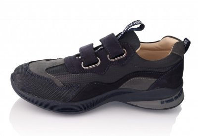Кроссовки TOPITOP 298 для мальчиков темно-синие, нубук.