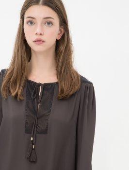 Блузка Koton 7KAK63675EW Grey