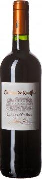 Вино Chateau de Rouffiac Cahors Мальбек 2018 красное сухое 0.75 л 13% (3370541460319)