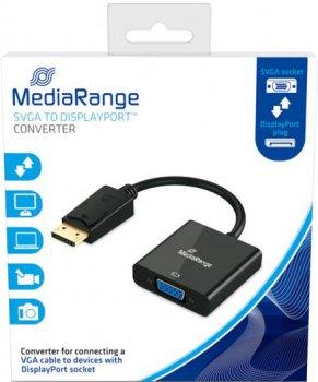 Переходник MediaRange DisplayPort to VGA (MRCS173)