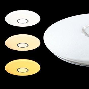 Світильник настінно-стельовий пластиковий вологозахищений Teb Elektrik Aqua Full Moon Opal з датчиком руху білий max 40Вт Е27 (400-213-115)