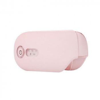 Массажер для глаз Smart Massager OLOEY со звукотерапией розовый
