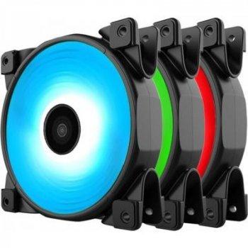 Кулер для корпуса PcСooler HALO 3-in-1 RGB KIT