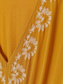 Плаття H&M 0772365-0 Жовте