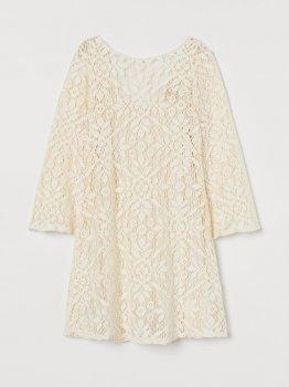Плаття H&M 0799997-0 Кремове