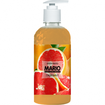 Жидкое крем-мыло MARIO 500мл (насос) Грейпфрут