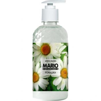 Жидкое крем-мыло MARIO 500мл (насос) Ромашка