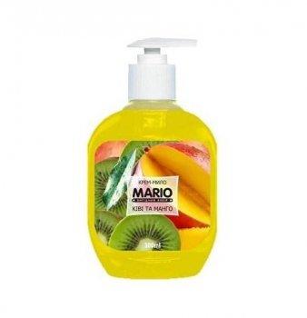 Жидкое крем-мыло MARIO 300мл (насос) Цветы и манго