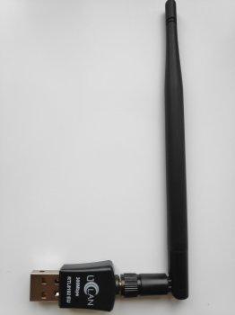 USB Wi-Fi адаптер uClan RTL8192EU 5dBi 300Mbps