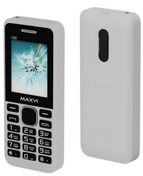 Мобільний телефон Maxvi C20 White