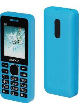 Мобільний телефон Maxvi C20 Blue