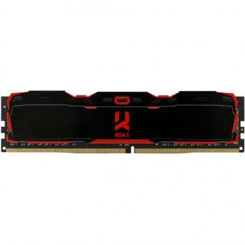 Модуль пам'яті для комп'ютера DDR4 32GB (2x16GB) 3000 MHz Iridium X Black GOODRAM (IR-X3000D464L16/32GDC)