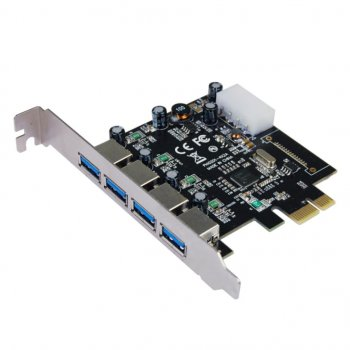 Контролер Pci to USB 3.0 ST-Lab (U-1270)