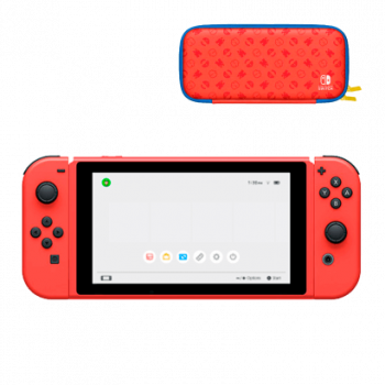 Консоль Nintendo Switch Mario Red & Blue Edition Новое