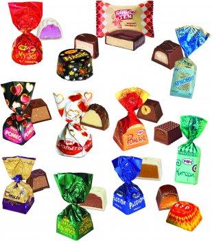 Конфеты Рахат Ассорти шоколадные 1 кг (2220100022127)