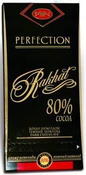 Упаковка шоколаду Рахат 80% 100 г х 2 шт. (4870036005098)