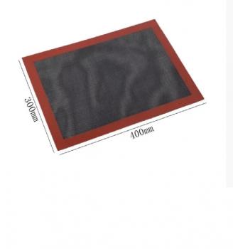 Чорний перфорований силіконовий килимок для випічки Empire 30*40 см (200412)