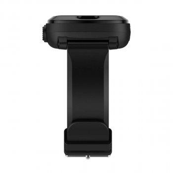 Дитячі смарт-годинник Elari KidPhone 4G Black з GPS-трекером і відеодзвінки (KP-4GB)