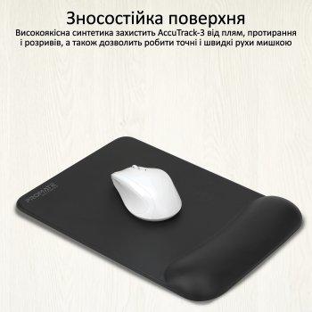Килимок для миші Promate AccuTrack-3 Black (accutrack-3.black)
