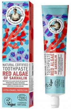 Натуральная зубная паста Рецепты Бабушки Агафьи Красные водоросли Сахалина 85 г (4743318102283)