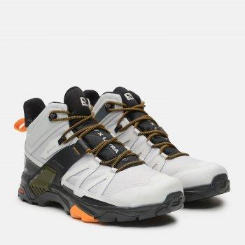 Ботинки Salomon X Ultra 4 Mid Gtx L41294500 Белые с черным