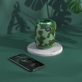 Портативна Bluetooth колонка Hoco BS39 Cool freedom sports Camouflage Green