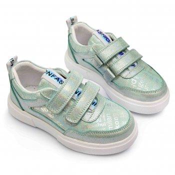 Кросівки для дівчаток Bebe Fashion М'ятні (1514102)