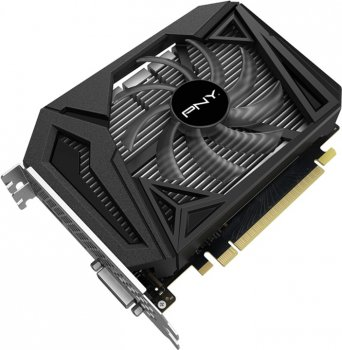 Відеокарта PNY GeForce GTX 1650 Super Single Fan 4GB GDDR6 (VCG16504SSFPPB)