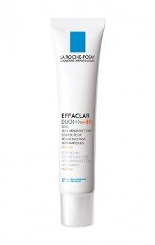 La Roche-Posay Effaclar DUO (+) коректуючий відновлюючий догляд, який усуває недоліки шкіри та сліди від акне SPF 30, Duo [+] 40 мл
