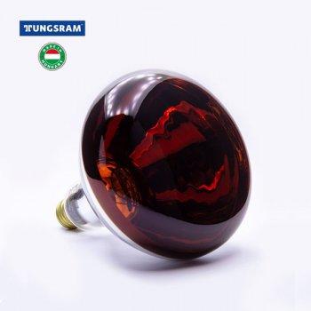 Лампа інфрачервона TUNGSRAM 250Вт, 250R/IR/R/E27 240V