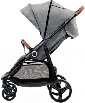 Прогулочная коляска KinderKraft Grande Gray (158339)