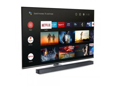 Телевізор TCL 65X10 65 Mini LЕD 4K Smart, Android, Black