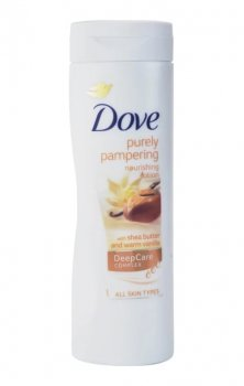 Dove Purely Pampering Shea Butter поживне молочко для тіла (400 мл)