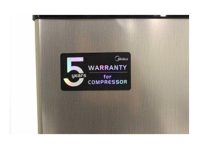 Холодильник з морозильною камерою Midea HS-65LN(BR)