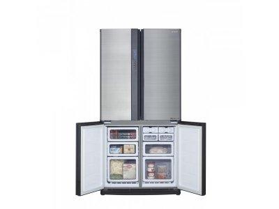 Холодильник з морозильною камерою Sharp SJ-EX770FSL