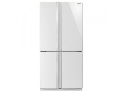 Холодильник з морозильною камерою Sharp SJ-GX820FWH