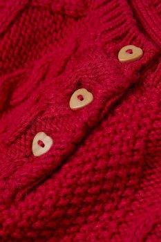 Джемпер H&M 0644934 8 Червоний