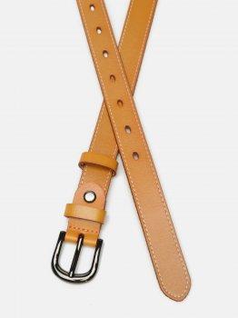 Женский кожаный ремень Laras CV10ZK-007-orange Рыжий (ROZ6400031914)