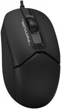 Миша A4tech FM12S USB Black (4711421958356)