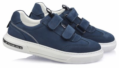 Кроссовки TOPITOP 505 для мальчиков синие, нубук