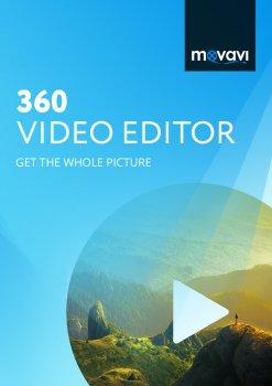 Movavi 360 Відеоредактор Персональна для 1 ПК (електронна ліцензія) (MovVE360pers)