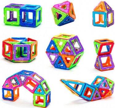 3D магнитный конструктор - Mini Magical Magnet на магнитах (58 детали)