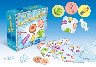 Настільна гра Granna Час солодощів (83064) (5900221083064)