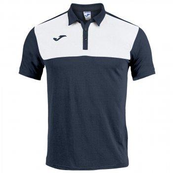 Поло Joma WINNER 101108.332 колір: темно-синій/білий