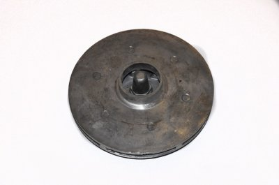 Крильчатка (робоче колесо) для насоса БЦН 1.2, d130, плоска з гайкою
