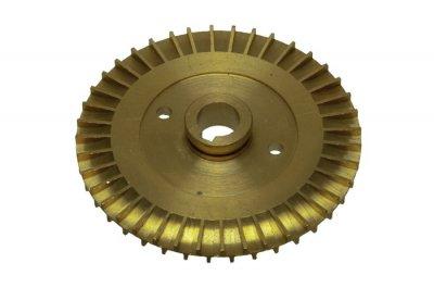 Крильчатка (робоче колесо) для насоса, латунна d=12/80, шпонка
