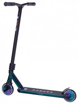 Трюковий Самокат Maraton Ranger Неохром, 2 пеги, колеса 110 мм, HIC