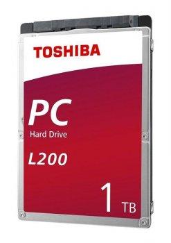 """Накопитель HDD 2.5"""" SATA 1.0TB Toshiba L200 5400rpm 128MB (HDWL110UZSVA)"""